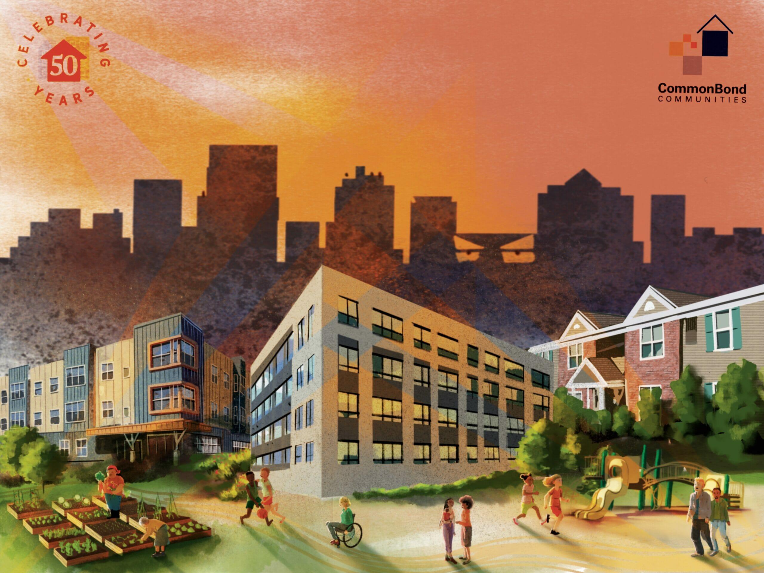 CommonBond Art Poster by Kim Burnett